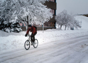 Winter Cycling Safety Tips