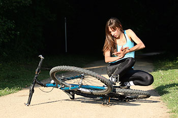 What should I do after a bicycle injury